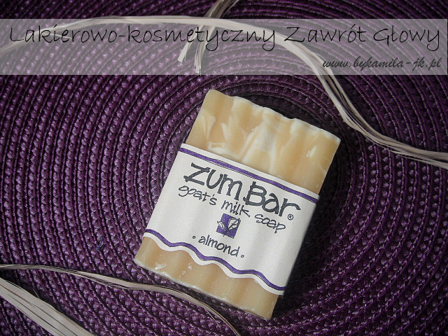 Indigo Wild Zum Bar almond mydło migdałowe naturalne ręcznie robione iHerb