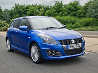 2013 Suzuki Swift Sport 5-door Japanese car photos 2