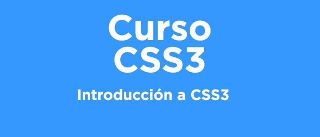 Curso CSS 3: Introducción