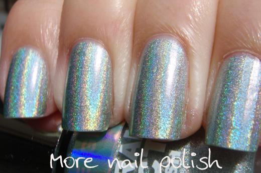 Layla Hologram Effect - Part 1 ~ More Nail Polish