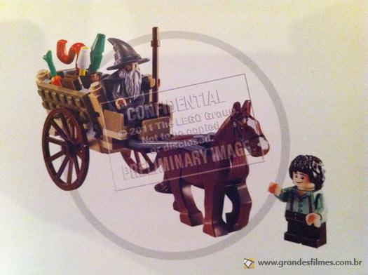 LEGO Senhor dos Anéis - A chegada de Gandalf