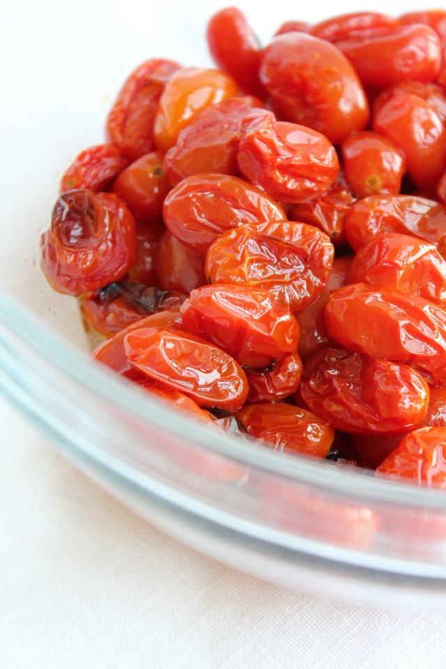 Easy Roasted Cherry Tomatoes, Roasted Tomatoes