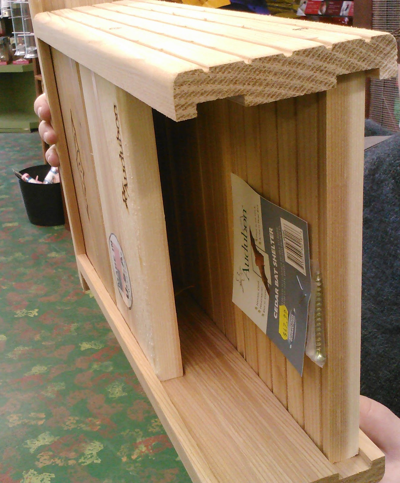 bat house plans audubon knockoff