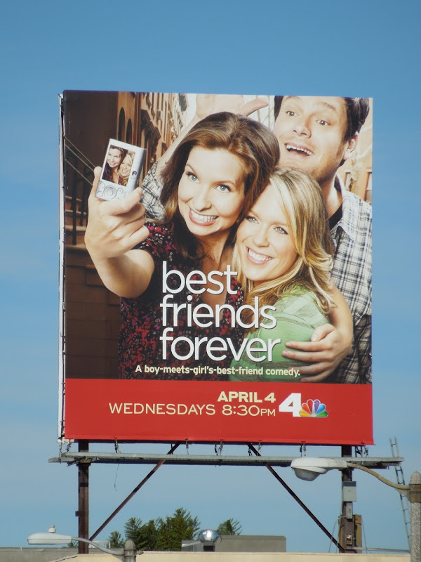 Best Friends Forever NBC billboard