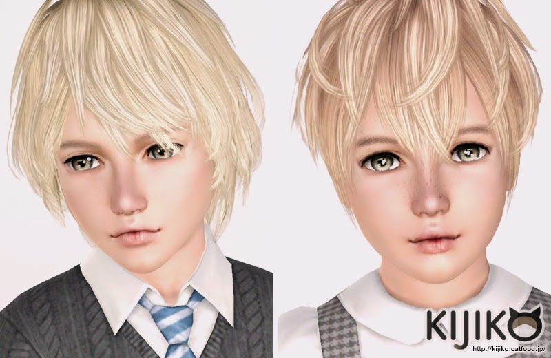 My Sims 3 Blog Kijiko Korat And Burmese Hair For Kids