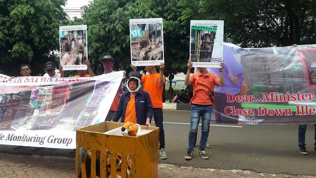 Aktivis Scorpion desak penutupan pasar satwa liar ilegal