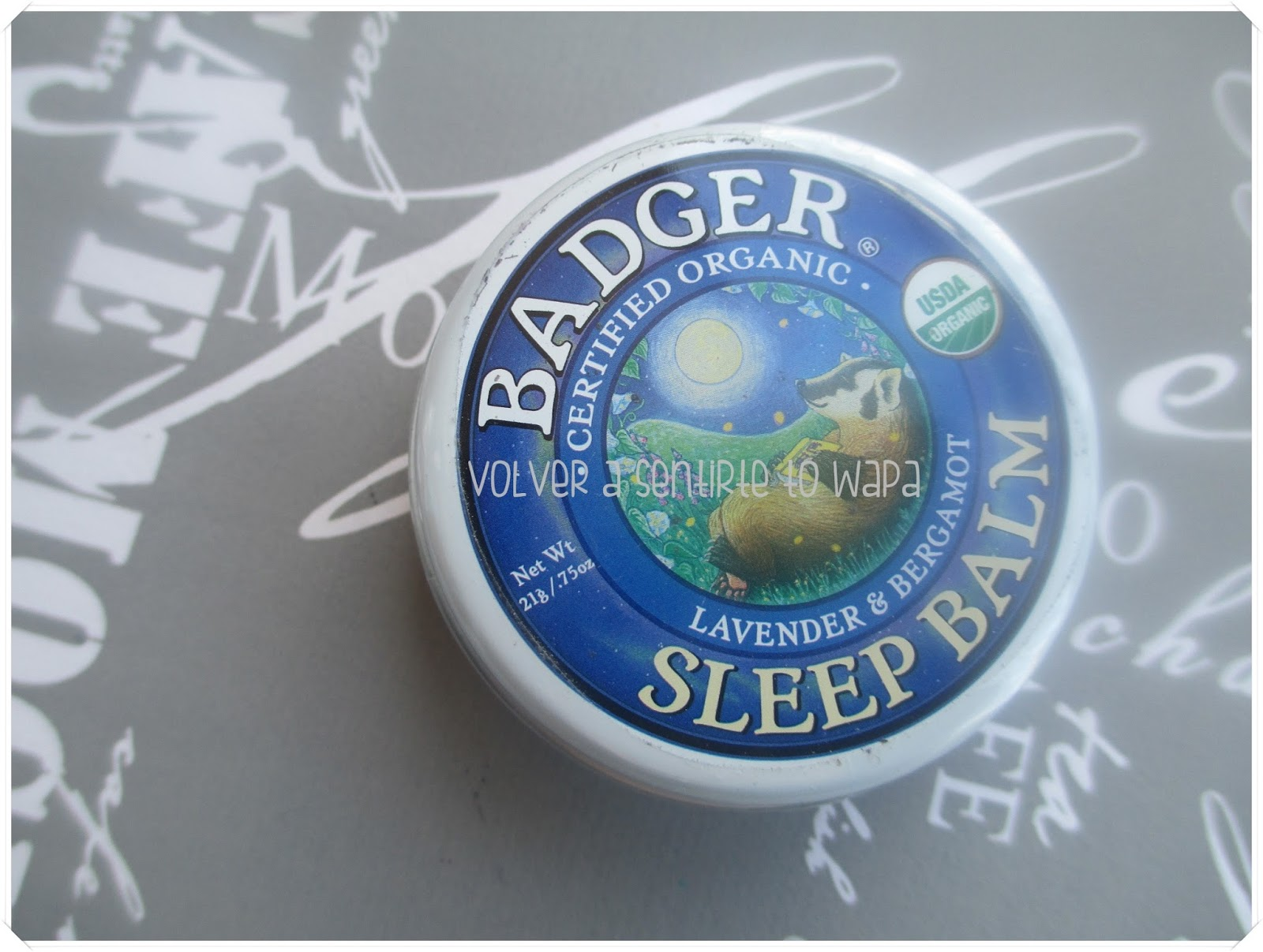 iHerb - Bálsamo de lavanda y bergamota para dormir de Badger Company