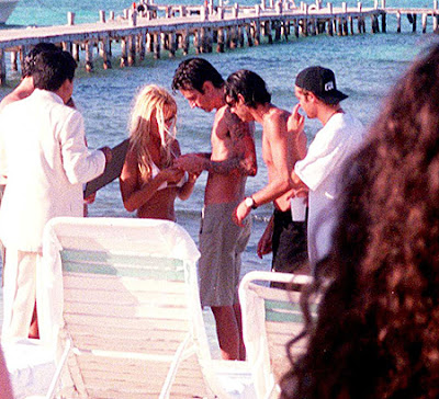 Pamela Anderson and Tommy Lee Valentines Day Wedding