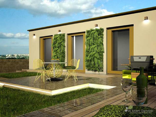 ogrody na dachach, nowoczesne, warszawa