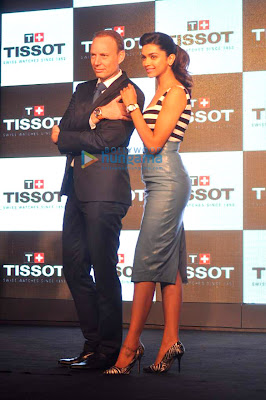 Deepika Padukone unveil the Latest Tissot watches collection
