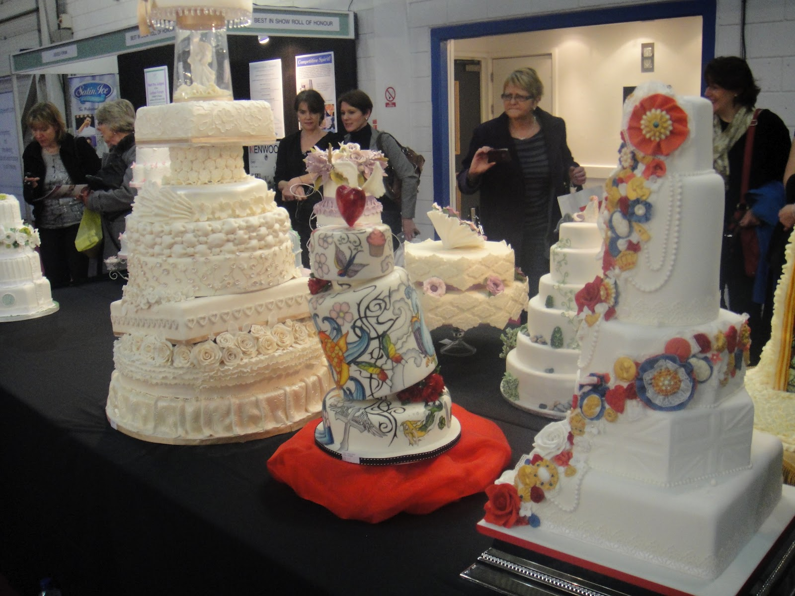 The more than occasional baker: Cake International 2012