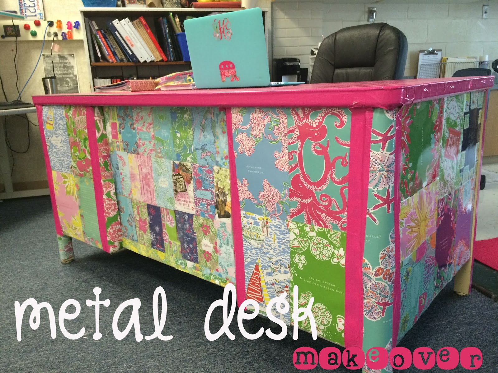 idea your teacher kidd out enjoyable desk of a setting for homey ideas up bulletin the making classroom love second decor front