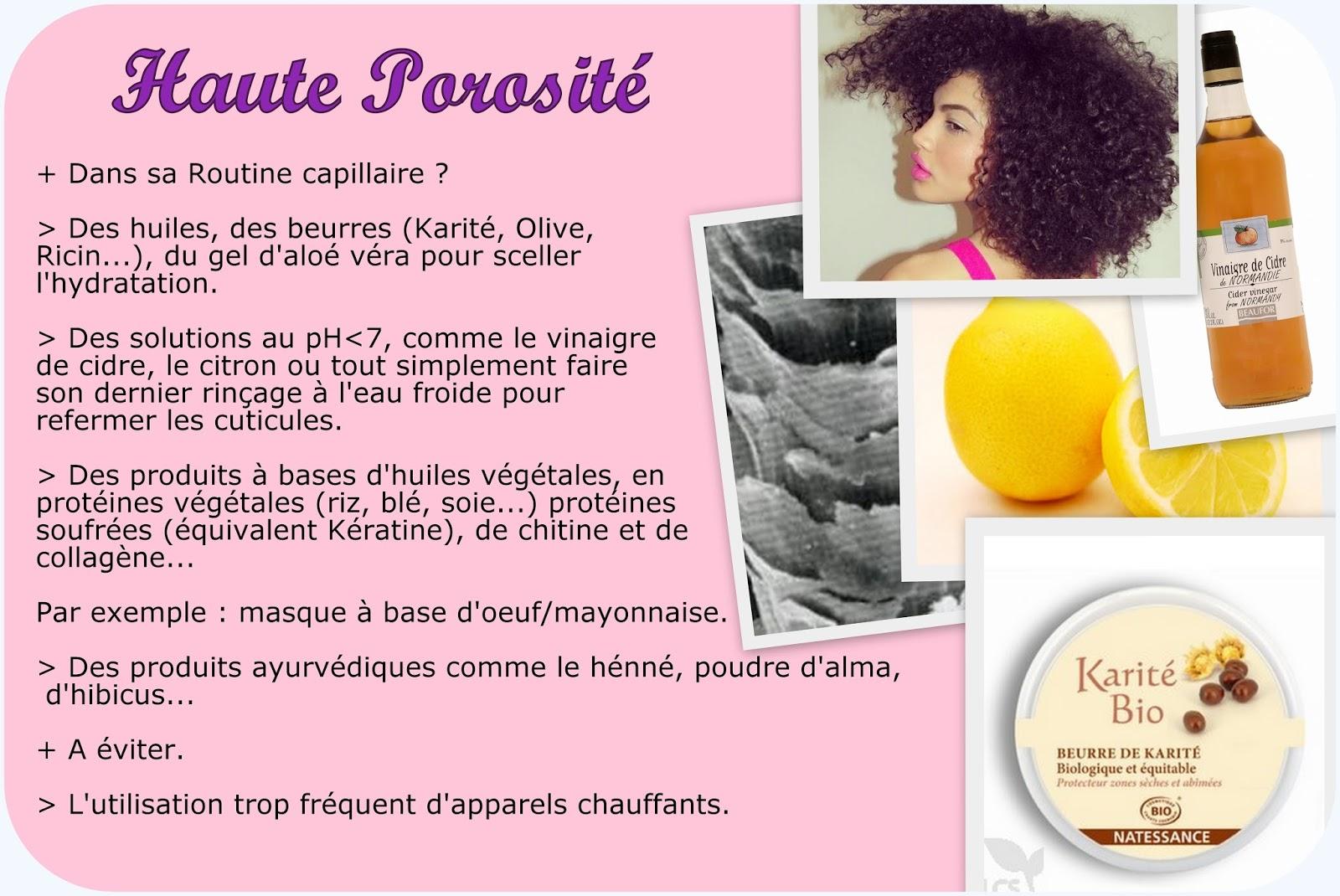 Sehr La porosité, le secret pour une bonne routine capillaire. | Nappy  TJ76