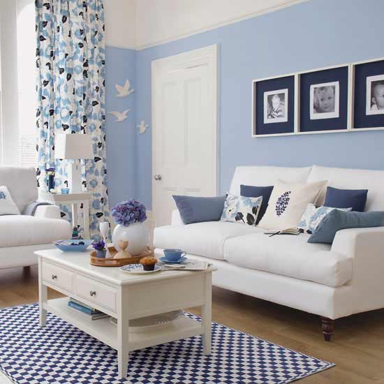 Falls Design I 39 M Loving Pale Blue Living Rooms