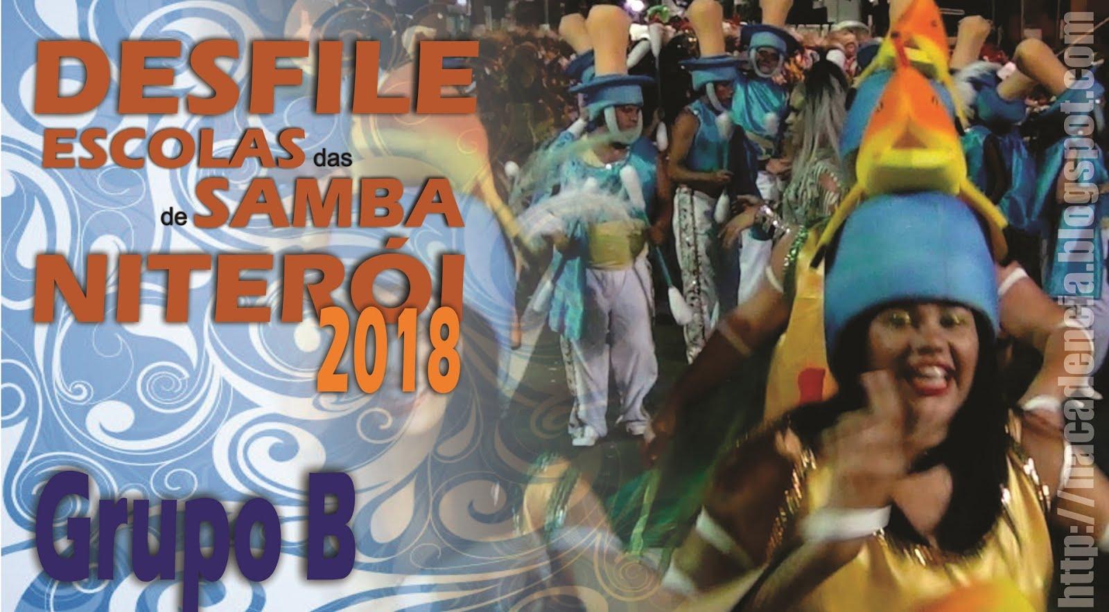Carnaval de Niterói 2018 - Grupo B