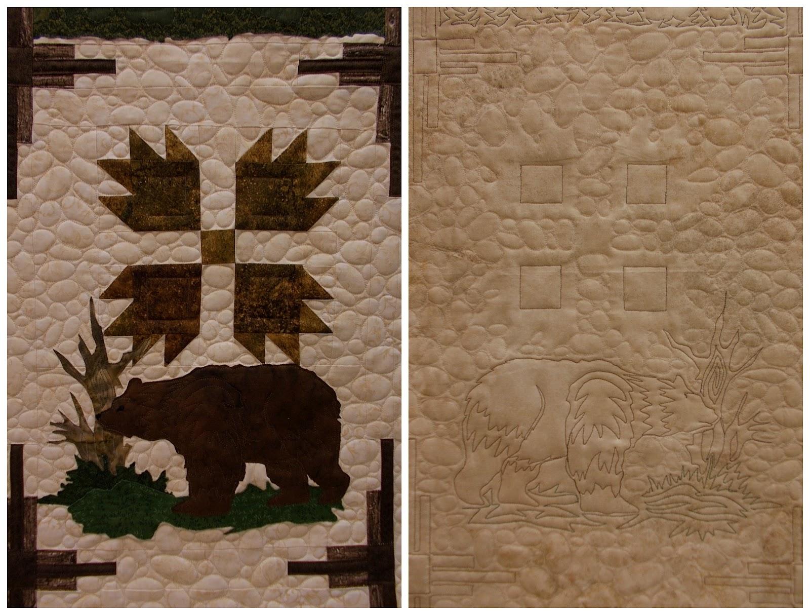 pieceful kwilter: Northwoods Wilderness BOM : northwoods quilt - Adamdwight.com