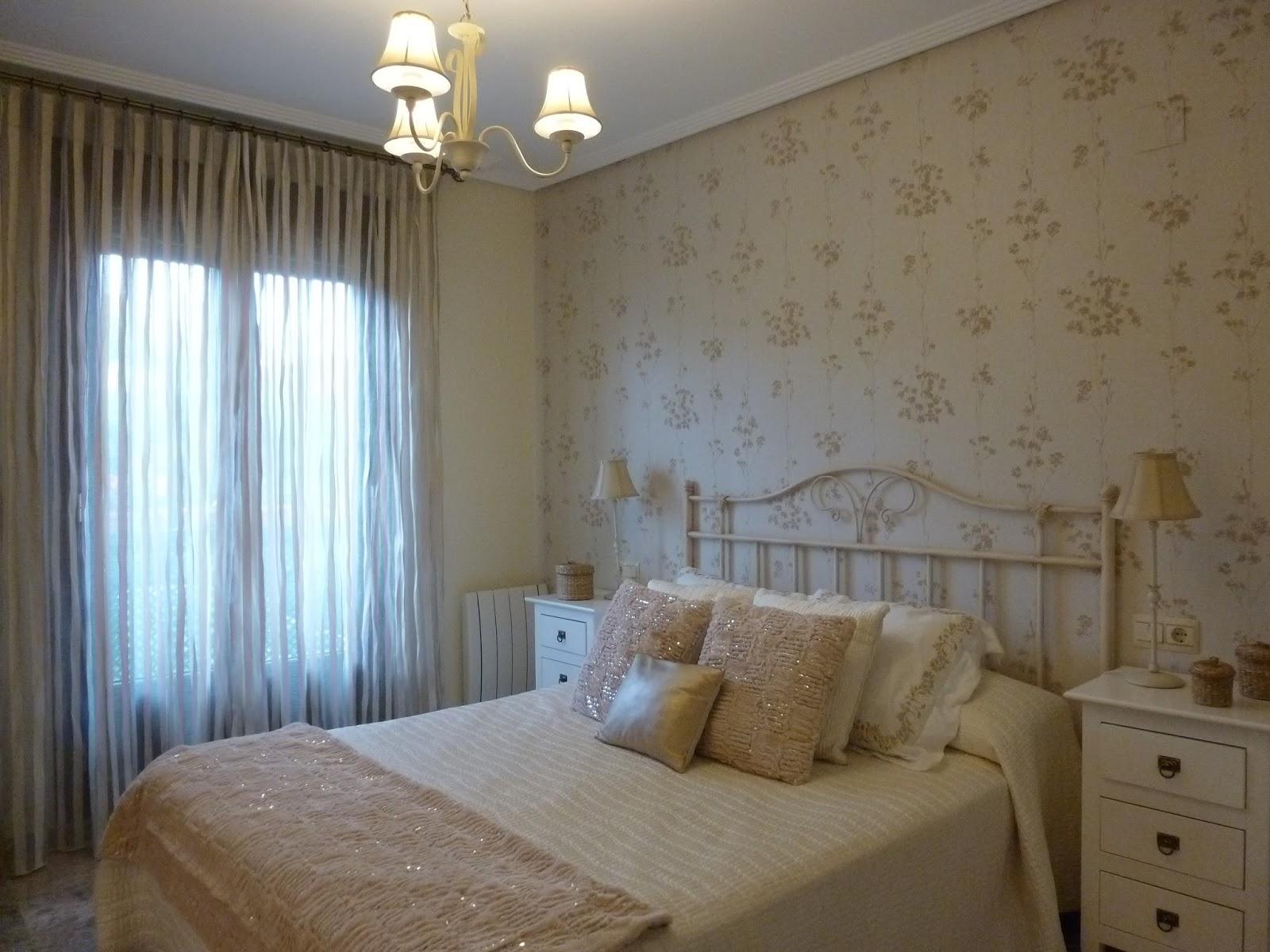 Tela papel y pintura dormitorios de verdad - Murales pintados en la pared ...