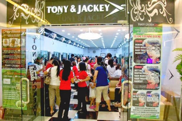 The Average Jane: PH | Bang's Tony & Jackey Beauty Salon's
