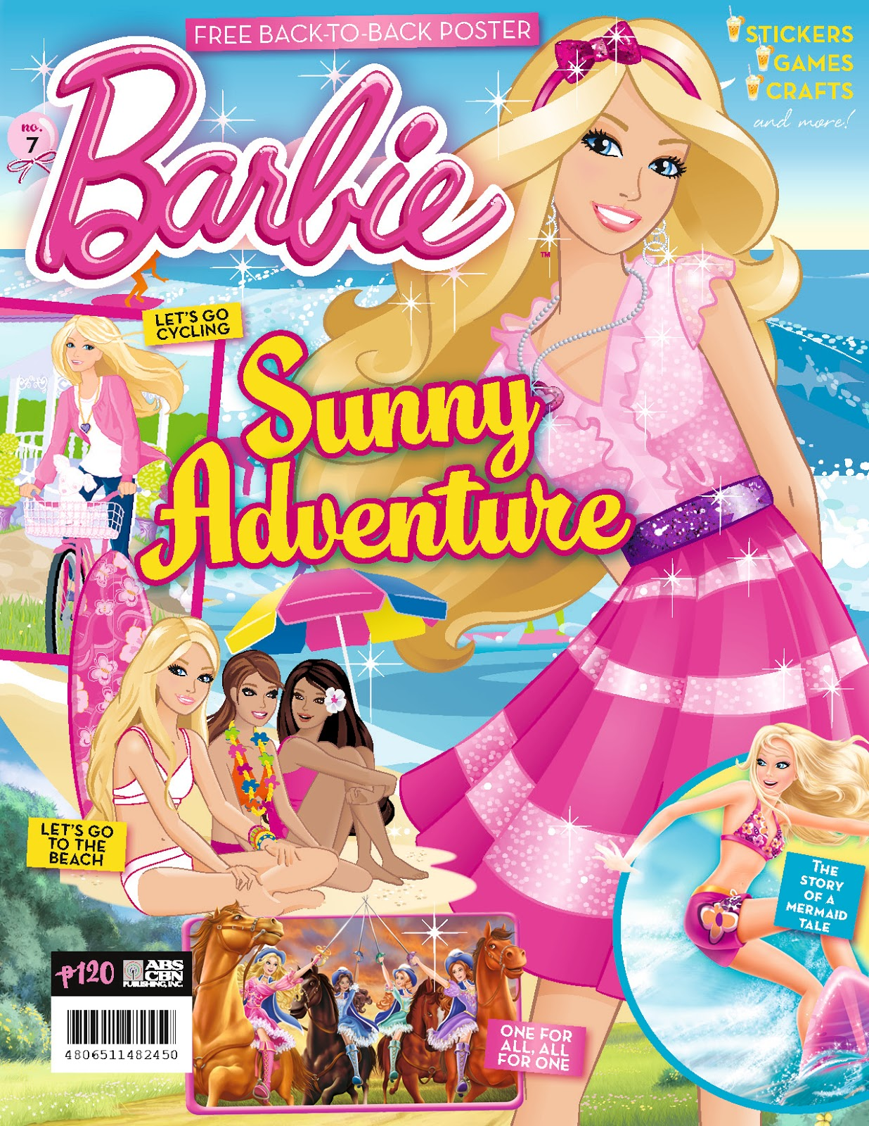 Barbie Magazine Summer Special Issue Sunny Adventure