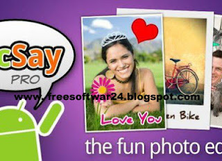 PicSay Pro Photo Editor Software For Android