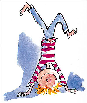 Visual Recordings 5 Simple Line Drawings By Quentin Blake