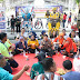 Kapolres Gresik Sosialisasikan Milenial Road Safety Festival di CFD