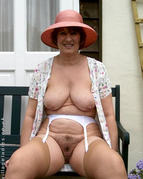 Sexy old spunker has a smoke amp plays with her juicy pussy 3