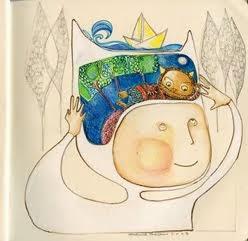 Ilustración para el homenaje a Sendak - donde viven los monstruos