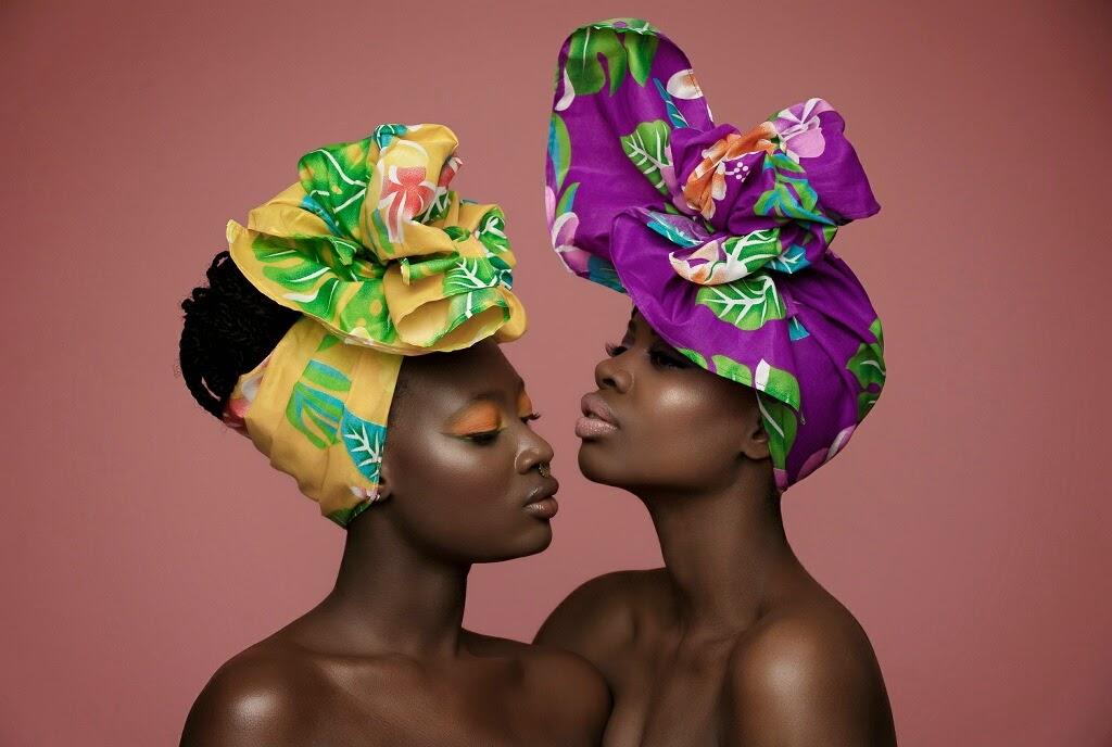 african print, head-wraps, head-tie, ankara, tutorials