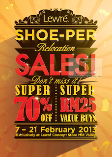 Lewre Shoe-Per Relocation Sales 2013