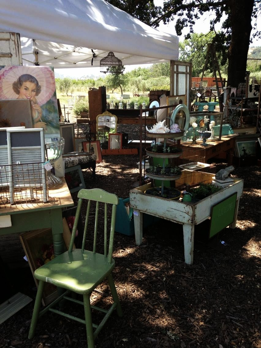 The Pickled Hutch booth  Soul Food Farms Antique Market