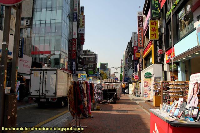 Window Shopping At Myeongdong And Ewha University Day 15
