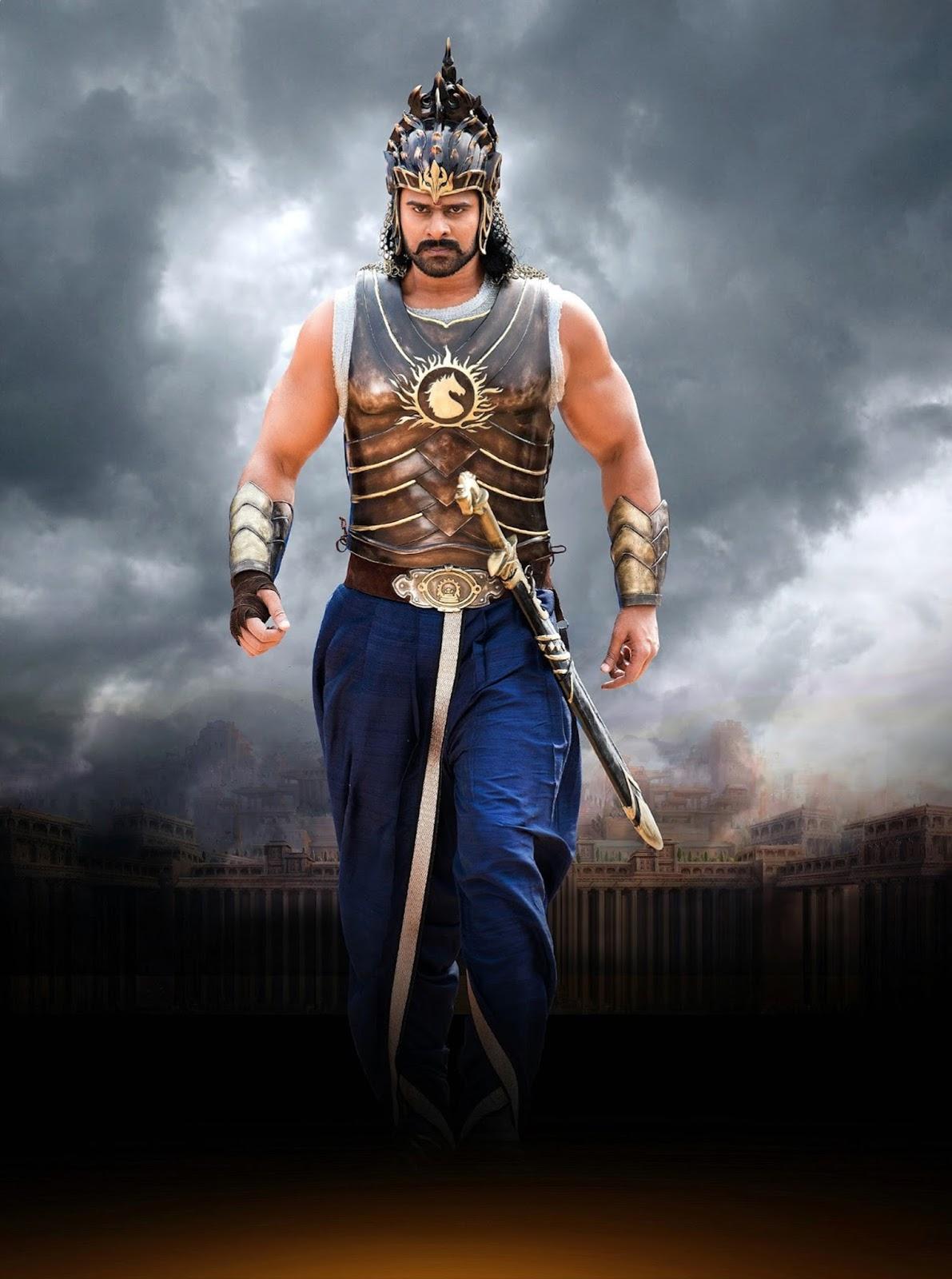 Bahubali Prabhas New Look