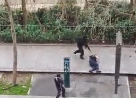 Terroristas islâmicos assassinam policial francês ferido e indefeso