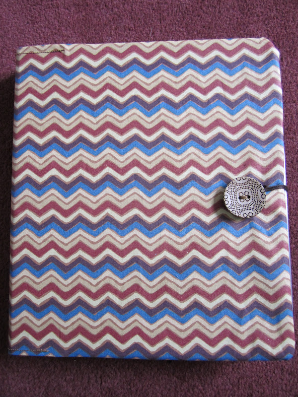 Busy Fingers Scrapbook Cover