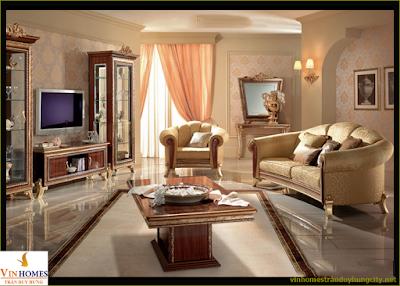 Phòng khách hiện đại sang trọng