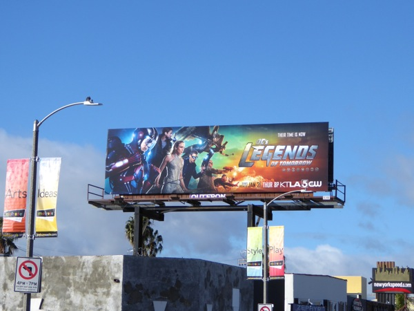 Legends of Tomorrow billboard