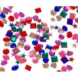 Adhesive Back Jewels (500 pc)