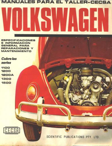 Manual de Taller CECSA Volkwagen