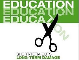 Short term Education cuts - Long term damage