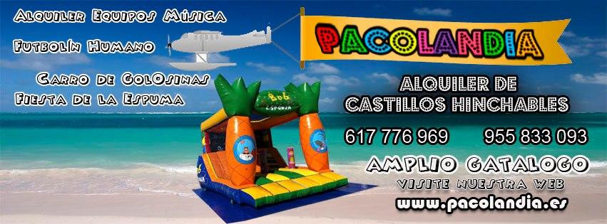 "Castillos Hinchables "" Pacolandia"" ( Sevilla)"