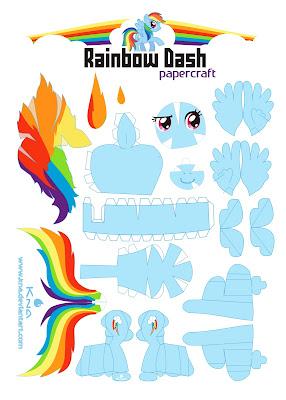 Pony papercraft