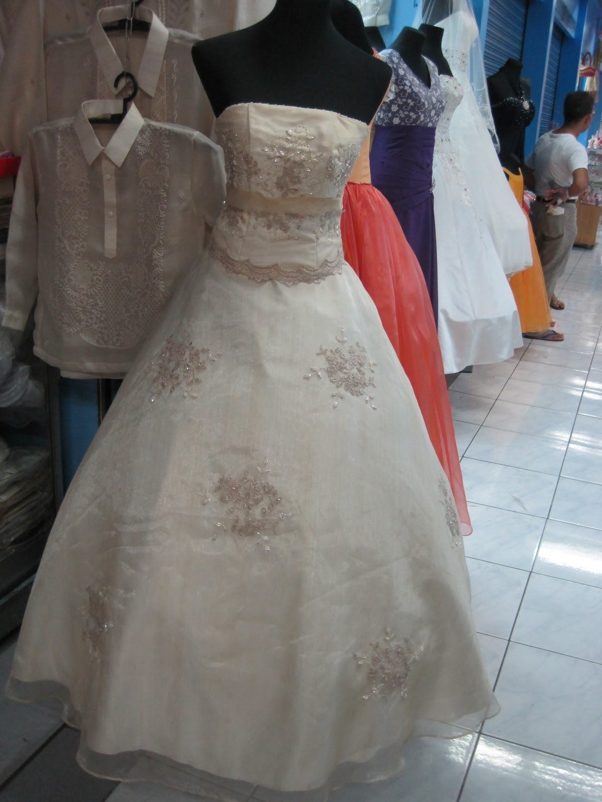 Prep Time Divisoria Bridal Gown Hunting