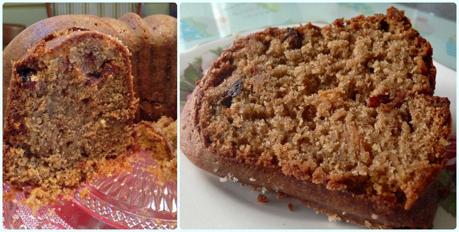 Large Sultana Cake Using Sour Milk Recipe