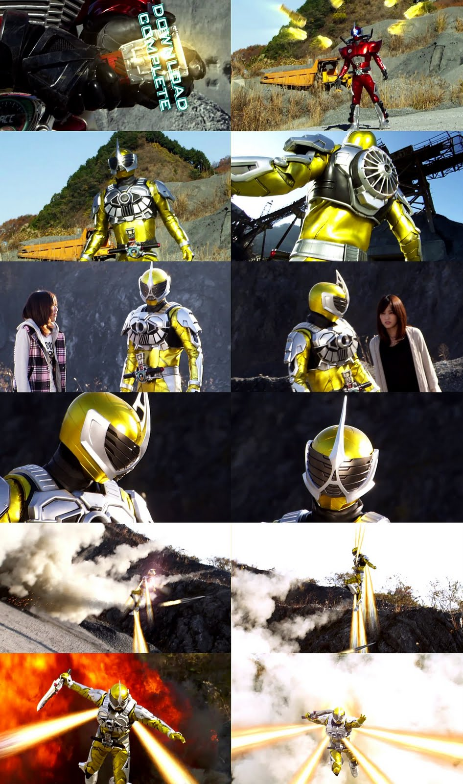 Kamen Rider Accel Booster HENSHIN!