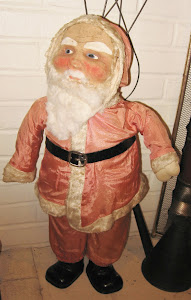 Early Large Christmas Display Santa
