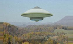 FLYING SAUCER FROM SPACE?