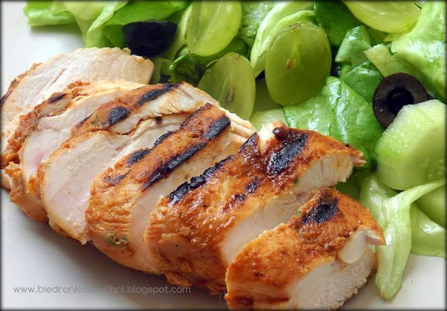 kurczak z grilla, grillowany kurczak, marynata do grilla