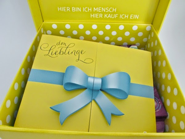 dm Lieblinge Box Mai 2014 - Unboxing