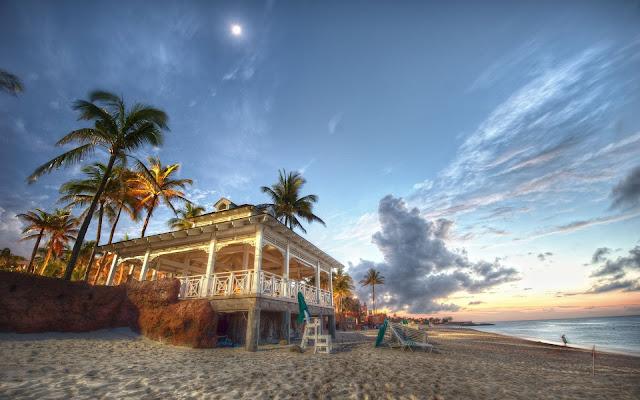 Beach House in Nassau Bahamas